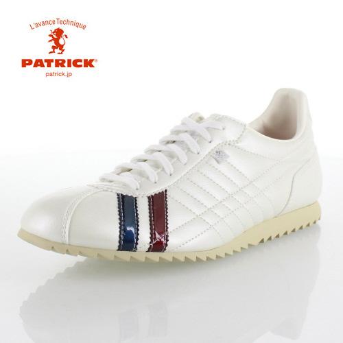 【エントリーでP5倍 4/9 20:00-4/16 1:59】 パトリック シュリー PATRICK SULLY_P.WHT 26660 メンズ レディース スニーカー 日本製 パールホワイト ホワイト 白 靴