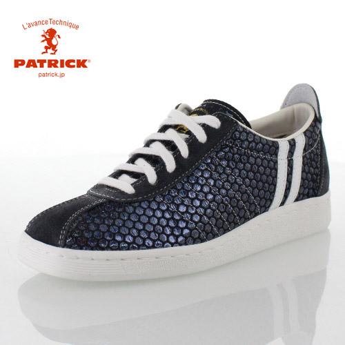 PATRICK パトリック MONGU-DT_BLK モングードット 529131 メンズ レディース スニーカー ふじやま織 日本製 ブラック