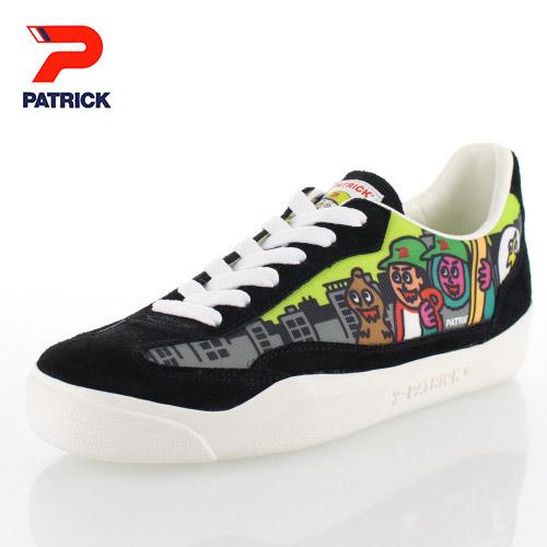 【エントリーでP5倍 4/9 20:00-4/16 1:59】 スニーカー メンズ レディース パトリック PATRICK NEGO6COPEN NEGO6 BLACK ネゴシックスコラボ カジュアル スニーカー 靴 ブラック