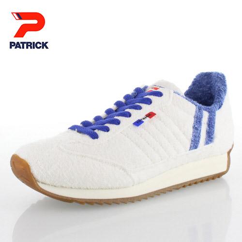 スニーカー メンズ レディース パトリック PATRICK MARASH WHT 530330 マラッシュ カジュアル スニーカー 靴 ホワイト