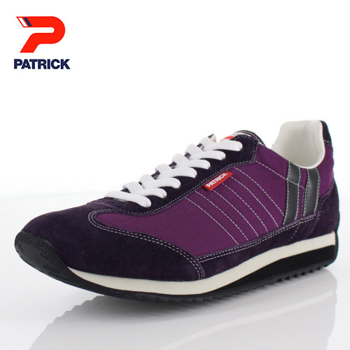 パトリック レディース メンズ スニーカー マラソン 94059 PATRICK MARATHON P.MNT パープル 紫