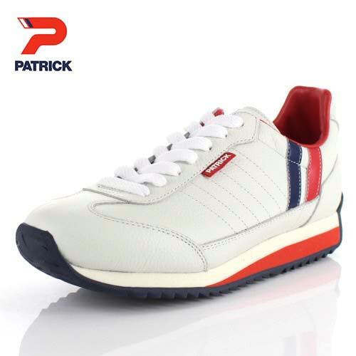 【エントリーでP5倍 4/9 20:00-4/16 1:59】 パトリック スニーカー マラソン PATRICKMARATHON-L 98800 ホワイト トリコロール メンズ レディース 靴 日本製