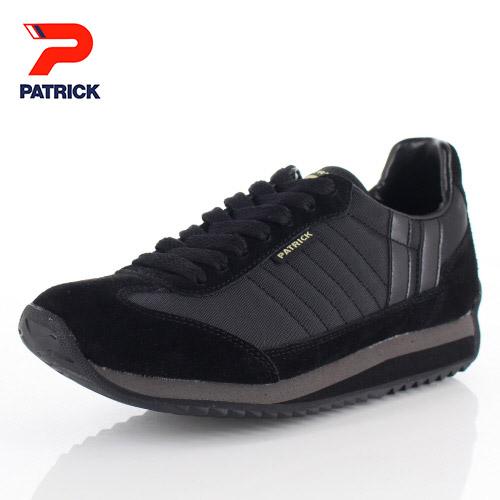 【エントリーでP5倍 4/9 20:00-4/16 1:59】 パトリック スニーカー マラソン スペース PATRICK MARATHON SPACE 94601 ブラック メンズ レディース 靴 日本製