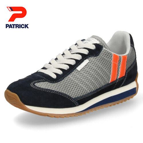 パトリック スニーカー クール マラソン PATRICK C-MARATHON G/N 531204 グレー ネイビー メンズ レディース 靴 日本製