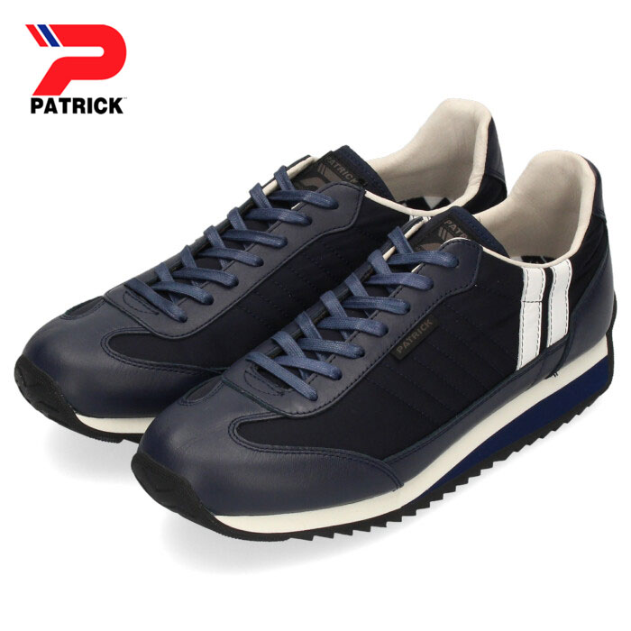 パトリック スニーカー マラソン PATRICK MARATHON LN NV 501532 ネイビー メンズ レディース 靴 日本製