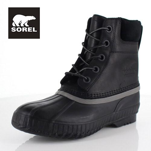 ソレル SOREL NM2575 010 メンズ ブーツ シャイアン ll Cheyanne ll ブラック 防水 保湿性 防寒 防滑 ハイカット