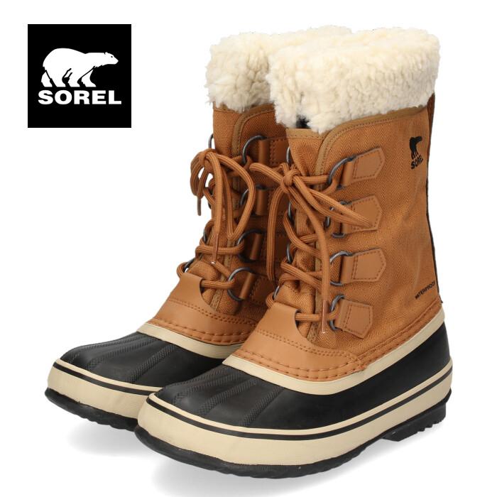 ソレル SOREL NL3483 224 レディース ブーツ ウィンターカーニバル キャメル 防水 防寒