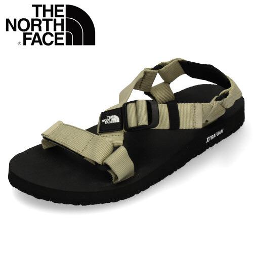 ザ ノースフェイス レディース メンズ サンダル NF51921-BK ウルトラストレイタム ベージュ ブラック THE NORTH FACE