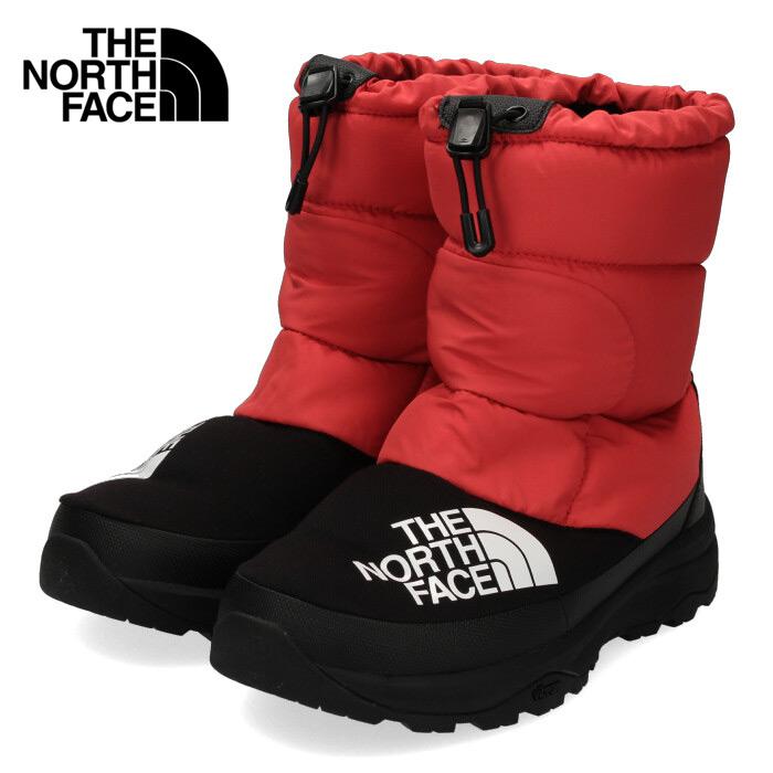 ザ ノースフェイス メンズ レディース ブーツ THE NORTH FACE NF51877 レッド RK ヌプシダウンブーティー ユニセックス スノーブーツ 靴 セール