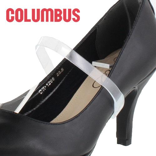 【エントリーでP5倍 4/9 20:00-4/16 1:59】 COLUMBUS コロンブス ミュールバンド レギュラータイプ 88640 クリア レディース パンプスバンド シューズバンド 靴 アクセサリー