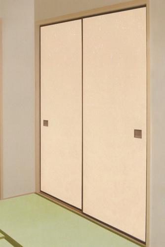 幅広(巾広)和紙ふすま紙 EY-717 巾136cm