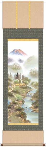 品質のいい 風水霊峰四神図 掛軸, ハッピーボックス ラグジュアリー 8bc89894
