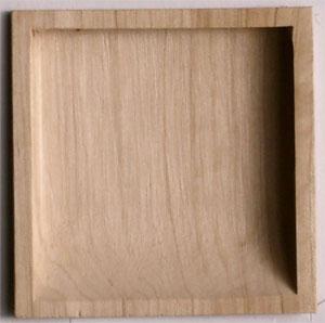 ふすま 襖引き手 木製 W-2 小 50個入り (引手/ふすま紙/襖紙/洋風/モダン/張替え/張り替え/販売/通販)