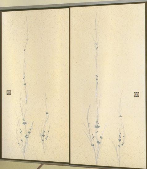和紙ふすま紙 J-1020