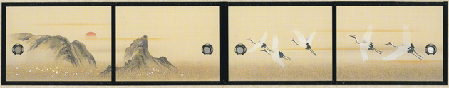 天袋ふすま紙 S-1149