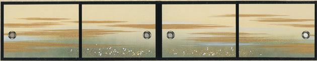 天袋ふすま紙 S-1151