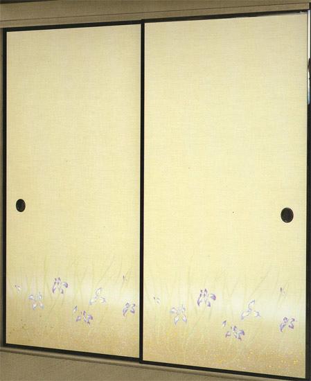 高級織物ふすま紙 S-930