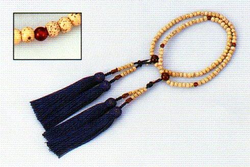 念珠 女性用二輪 星月 数珠 仏具