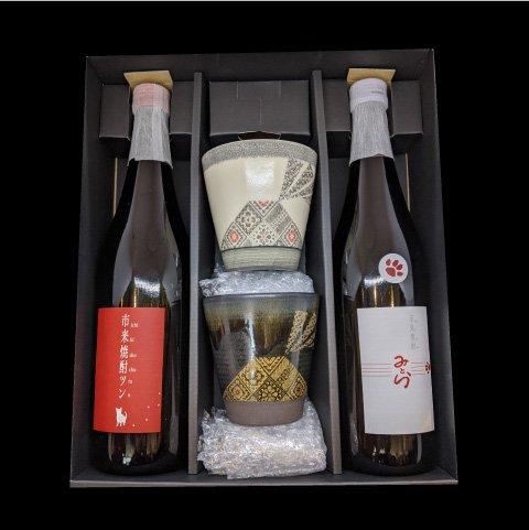 田崎酒造のオリジナル芋焼酎ギフトセット ツン みとら 入荷予定 薩摩焼セット《田崎酒造》いちき串木野市 AL完売しました。 芋焼酎