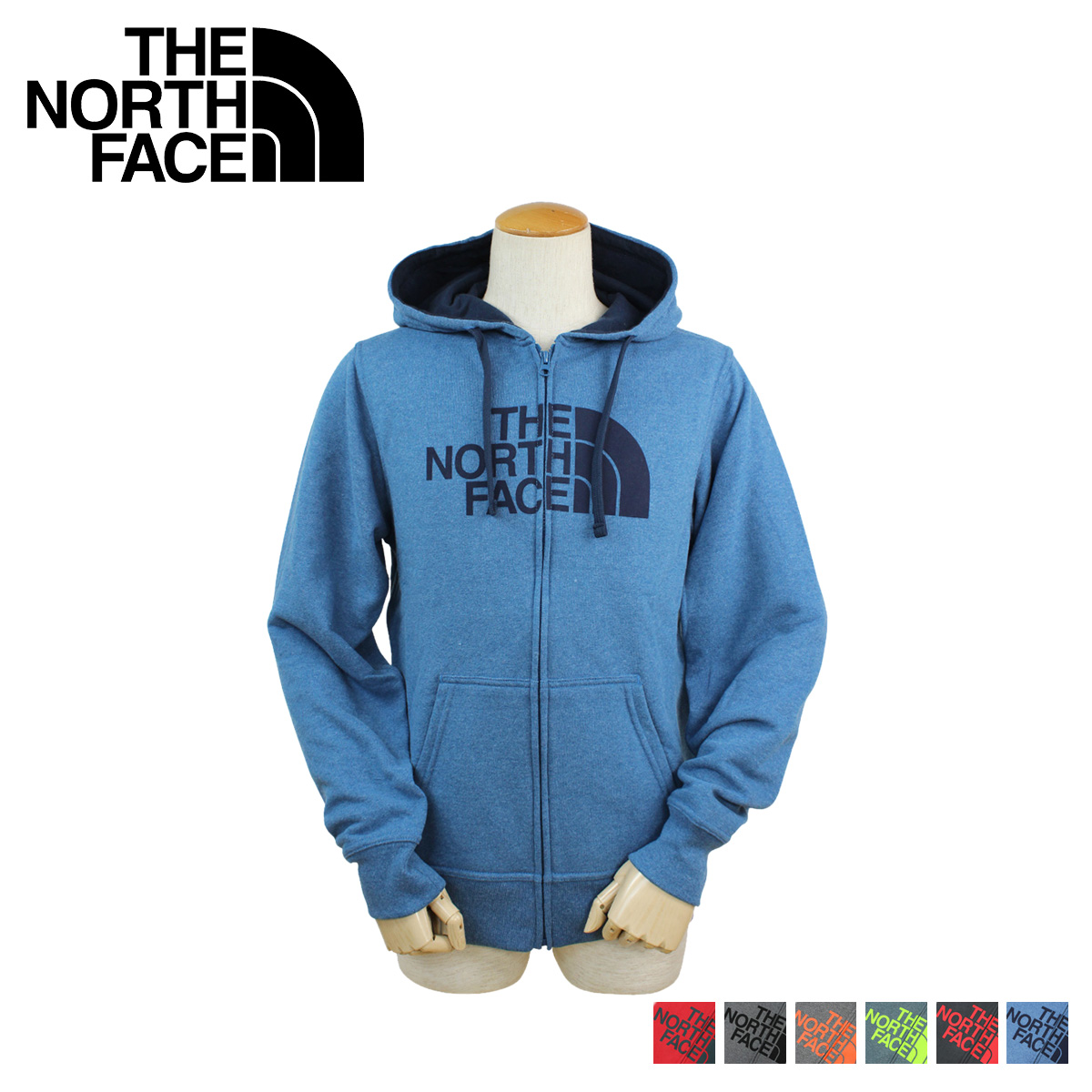 700b5774e THE NORTH FACE north face Hoodie zip up parka MEN'S HALF DOME FULL ZIP  HOODIE mens