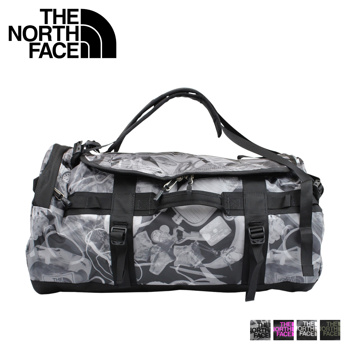 THE NORTH FACE north face bag bag duffel bag BASE CAMP DUFFEL-M 69L men  women b67e0f6ba5