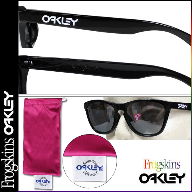 de48f2b1a3  SOLD OUT  Oakley Oakley Sunglasses polarized Frogskins Asian Fit frog skin  Asian fitting OO9245-02 black Iridium mens Womens