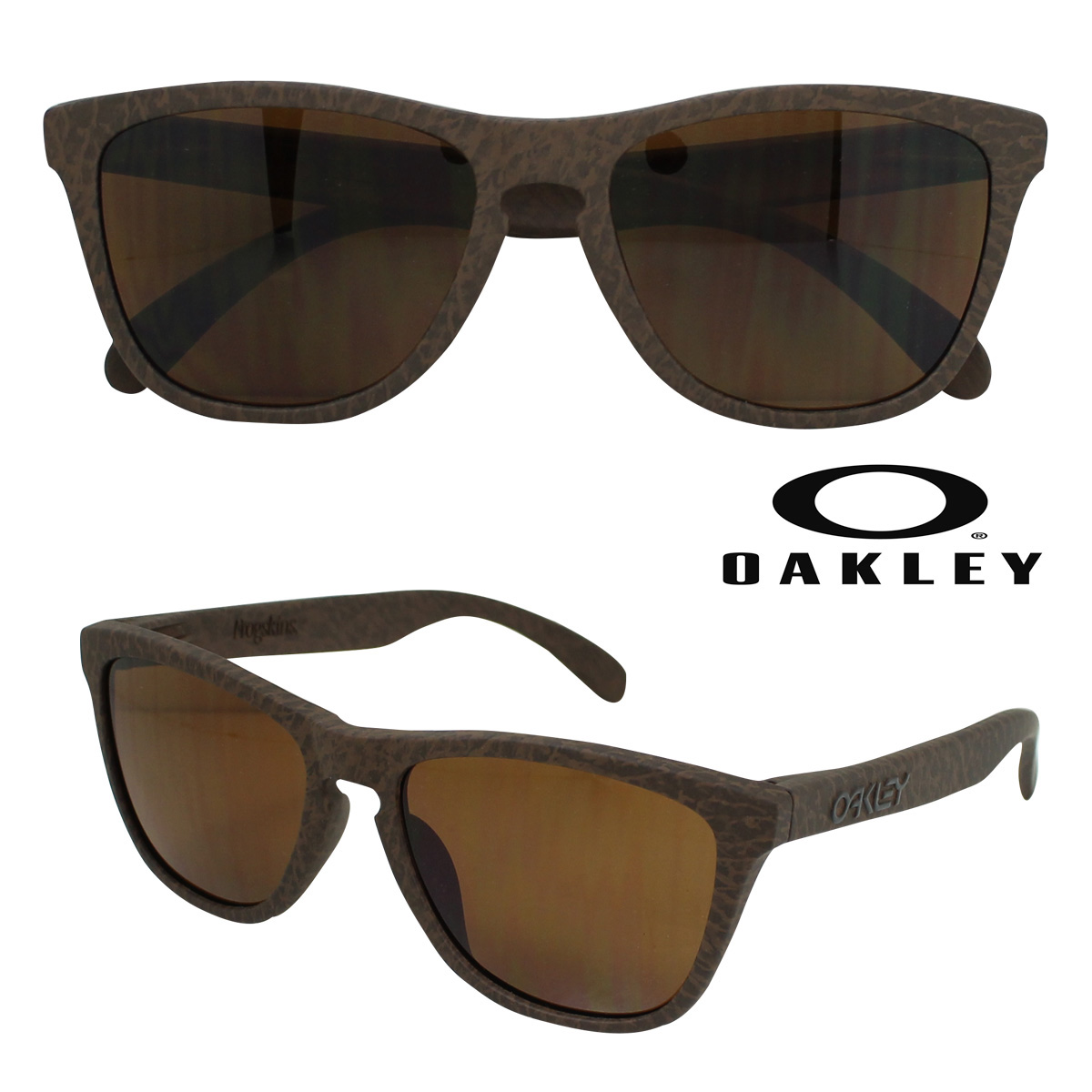 9c3951d9b8c Whats up Sports  Oakley Oakley Sunglasses Frogskins Asian Fit frog skin  Asian fitting OO9245-29 tobacco dark bronze men s women s