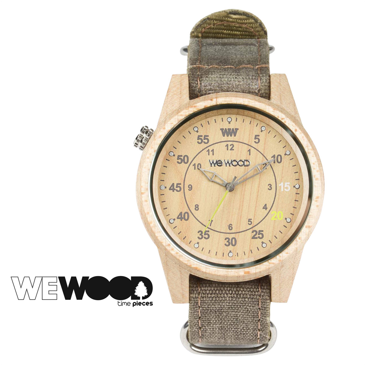 WEWOOD 腕時計 レディース ウィーウッド DUHBE ベージュ チョコレート BEIGE CHOCOLATE メンズ