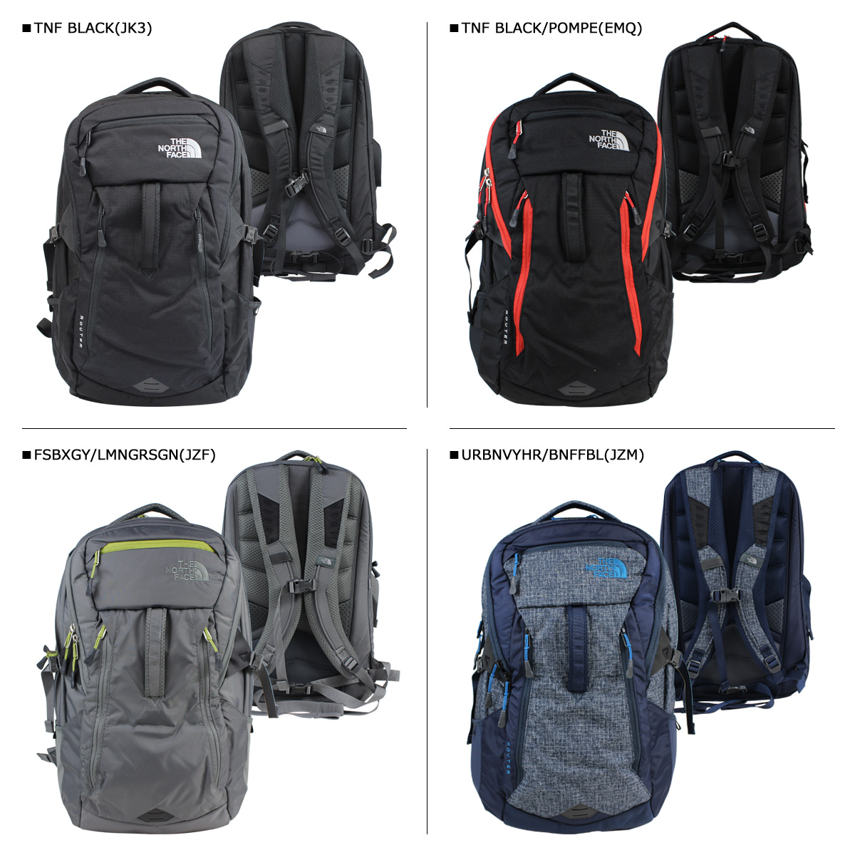 8831854a2 THE NORTH FACE north face rucksack backpack ROUTER BACKPACK 35L LH3C mens  ladies [8/2 Add in stock]