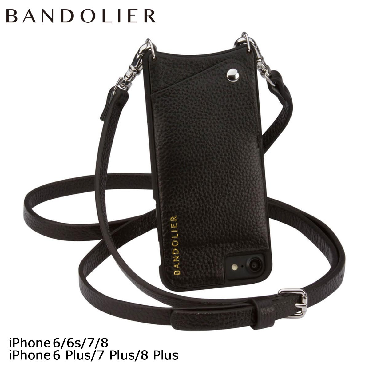 BANDOLIER EMMA バンドリヤー iPhone8 iPhone7 7Plus 6s ケース スマホ アイフォン プラス レザー メンズ レディース