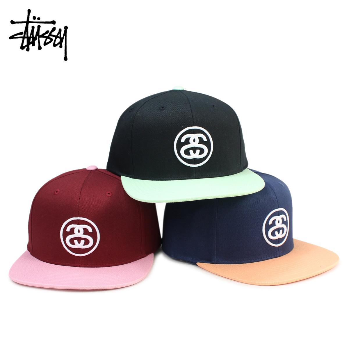 Whats up Sports  ステューシー STUSSY cap hat men gap Dis snapback cap SS LINK  SU17 SNAPBACK CAP 3 color  7 11 Shinnyu load   7e5549a0550