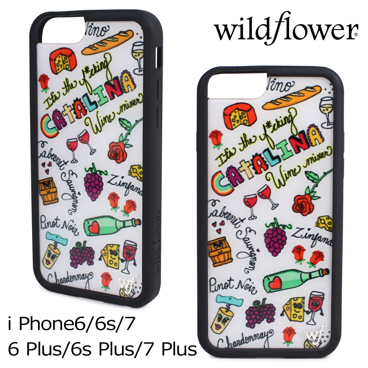 size 40 e6d94 ad524 wildflower iPhone8 7 iPhone 6 6s wild flower case Plus smartphone eyephone  Lady's multicolored WMIX