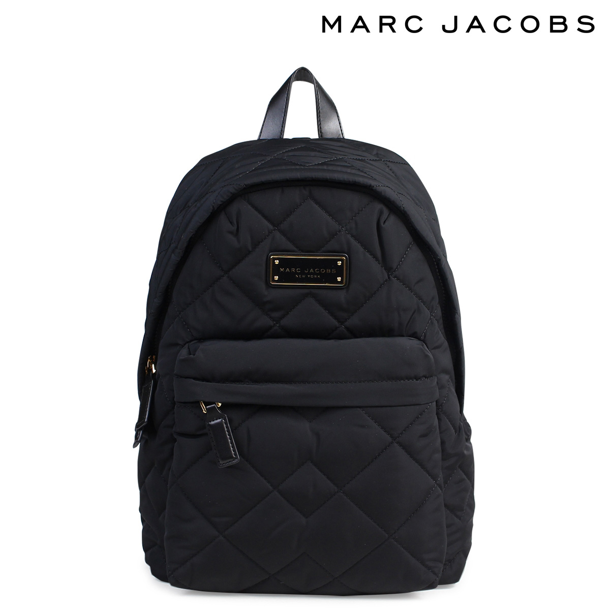 MARC JACOBS QUILTED BACKPACK マークジェイコブス バッグ リュック バックパック レディース ブラック 黒 M0011321