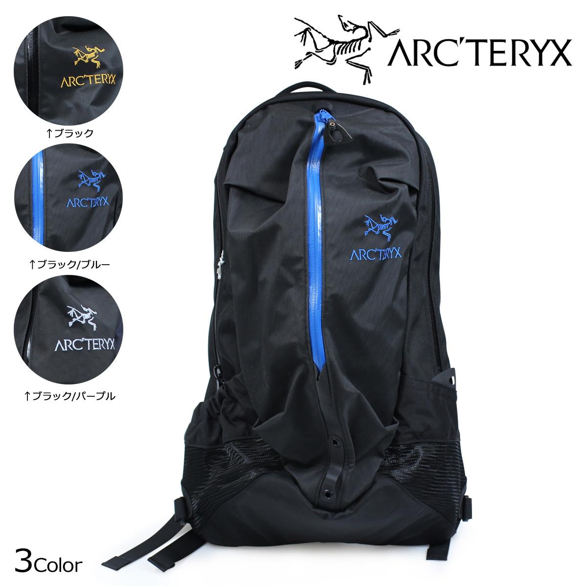 ARC'TERYX ARRO 22 BACKPACK アークテリクス リュック アロー22 バックパック 22L 6029 【決算セール 返品不可】