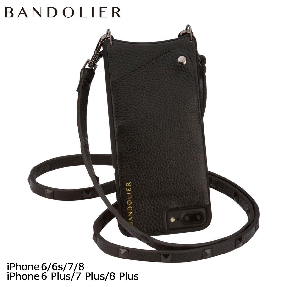 BANDOLIER SARAH バンドリヤー iPhone8 iPhone7 7Plus 6s ケース スマホ アイフォン プラス レザー スタッズ メンズ レディース [7/30 再入荷]