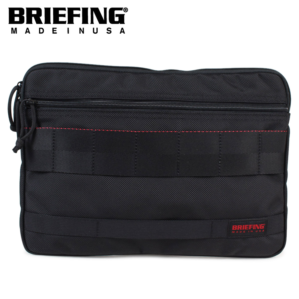 BRIEFING A4 CLUCH ブリーフィング バッグ クラッチバッグ メンズ ブラック 黒 BRF488219