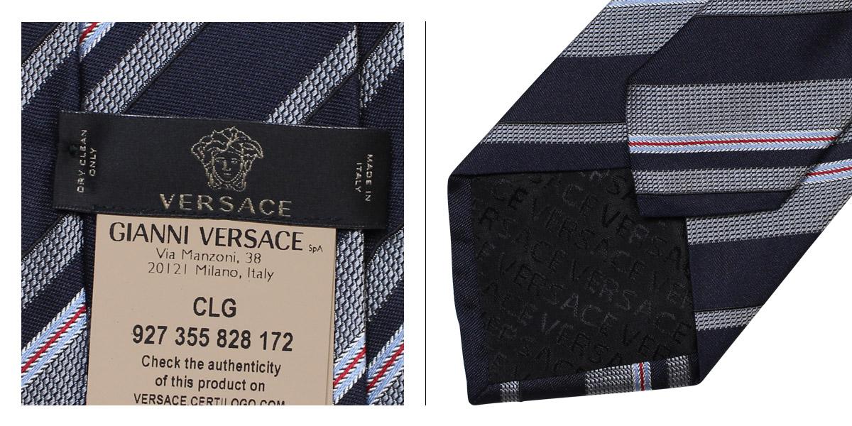 VERSACE ヴェルサーチ ネクタイ メンズ シルク ギフト ケース付 イタリア製 ビジネス 結婚式 ベルサーチnO0wPXZN8k