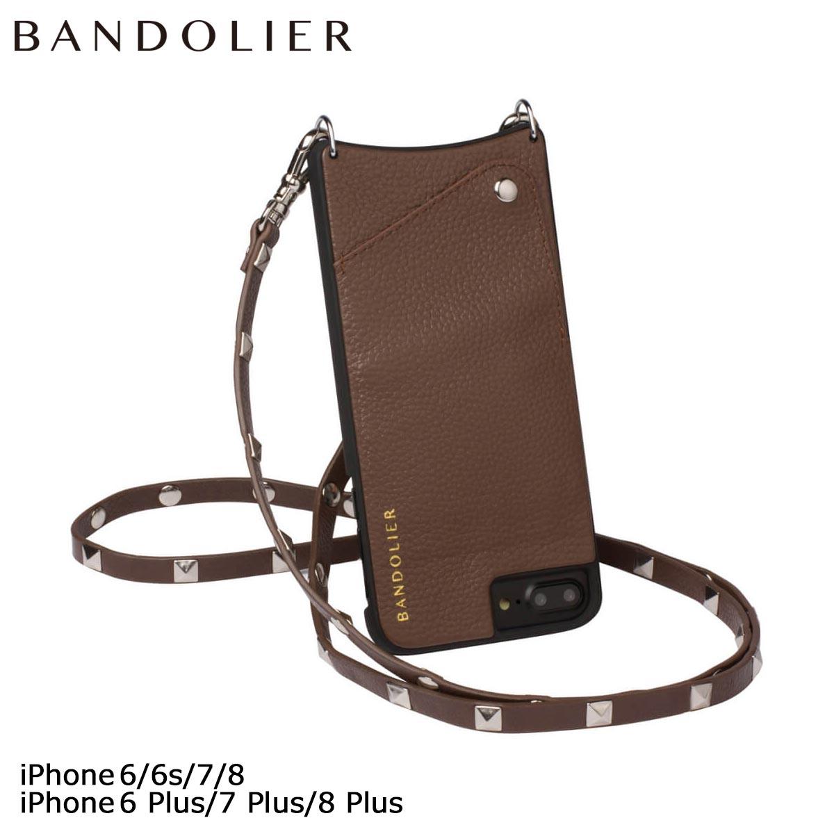 BANDOLIER SARAH バンドリヤー iPhone8 iPhone7 7Plus 6s ケース スマホ アイフォン プラス FALL17 レザー メンズ レディース
