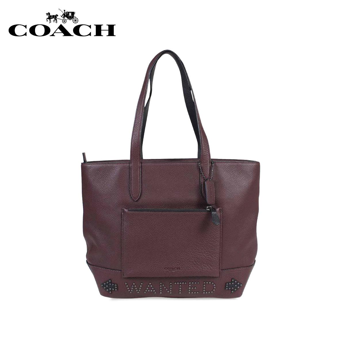 cc18e317f2111 ... top quality coach tote bag coach bag tote bag men f57774 wine red  leather 10 18 ...