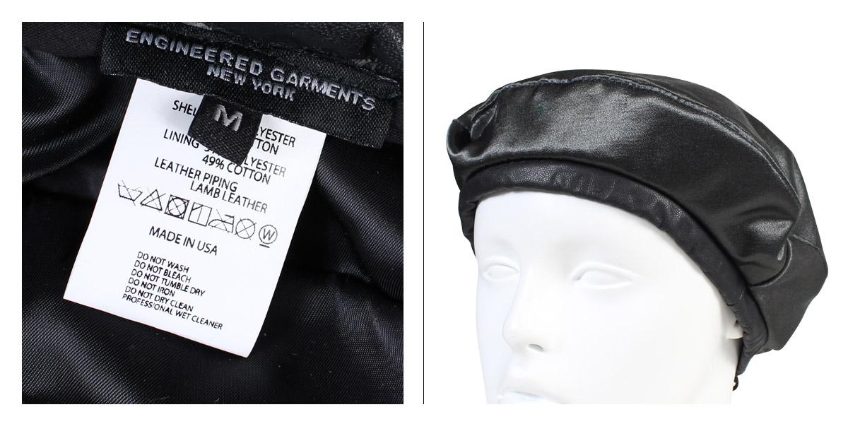 b731d7e8d ENGINEERED GARMENTS BERET engineered garfish face hat beret men gap Dis  F7H0853 black [11/9 Shinnyu load]
