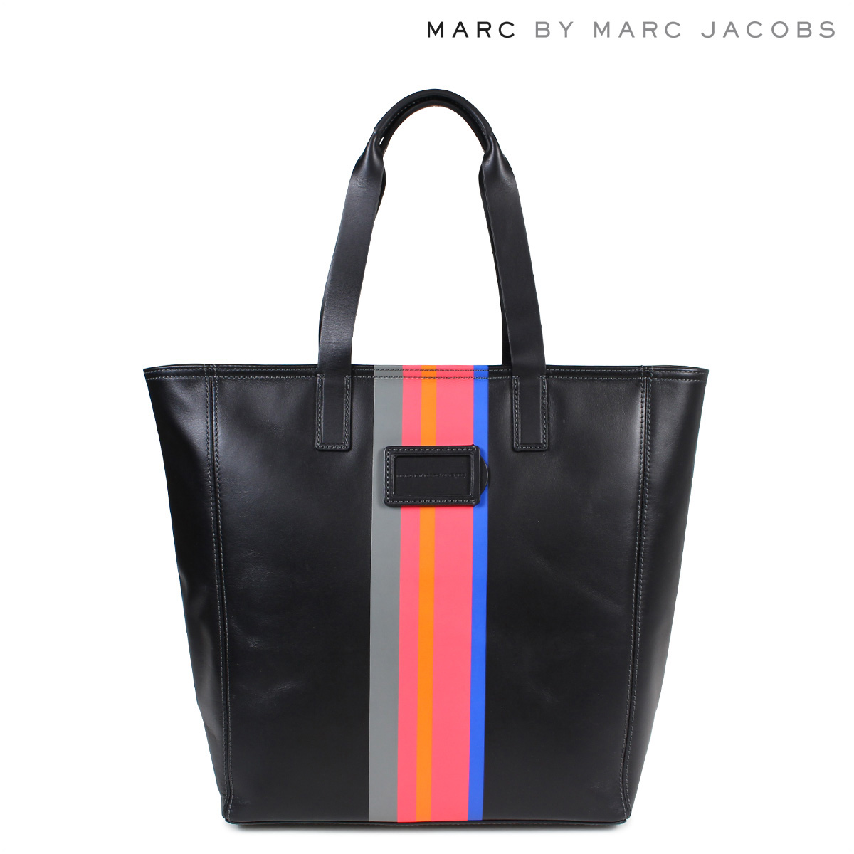 MARC BY MARC JACOBS LEATHER TOTE マークバイマークジェイコブス トートバッグ バッグ レディース M0005704 ブラック