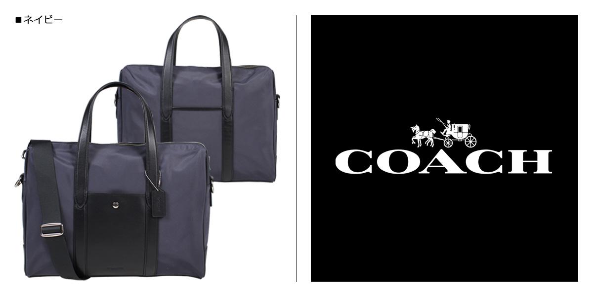 150a52f0 COACH CHARLES SLIM BRIEF coach bag business bag men briefcase F21087 navy  [12/12 Shinnyu load]