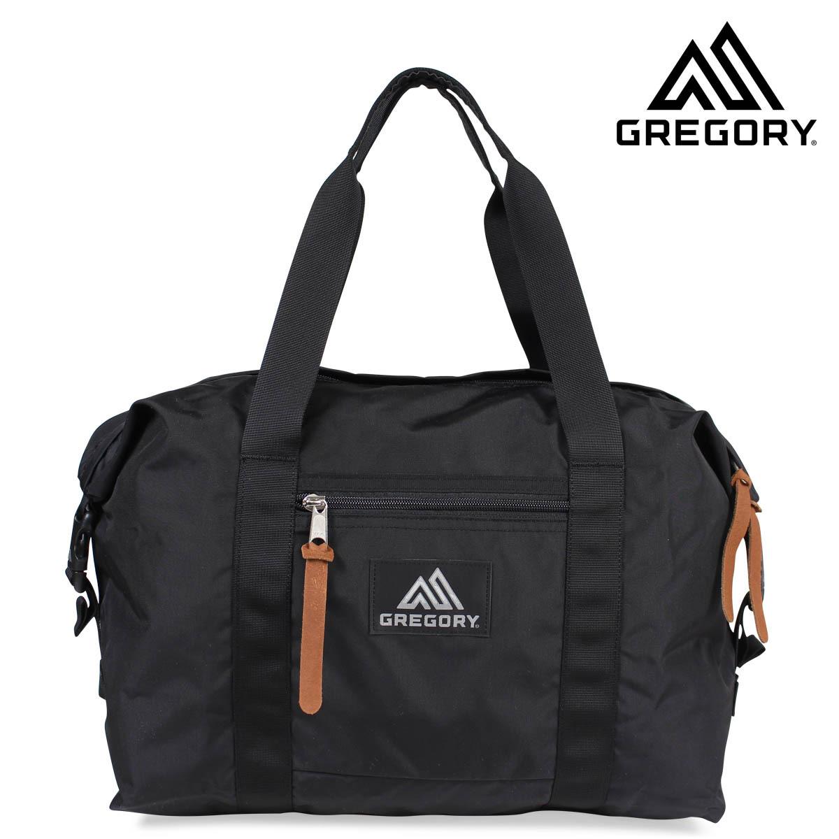 GREGORY PULL DOWN TOTE グレゴリー トートバッグ 32L プルダウン ブラック メンズ レディース 65328-1041