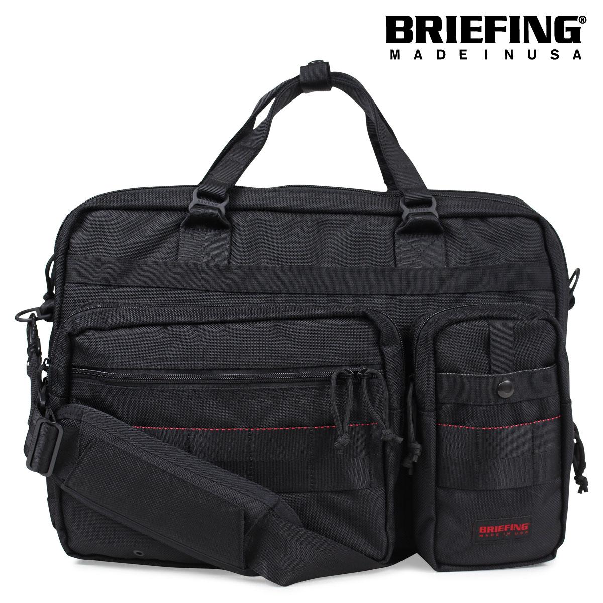 BRIEFING B4 OVER TRIP ブリーフィング バッグ ブリーフケース ビジネスバッグ メンズ ブラック BRF117219