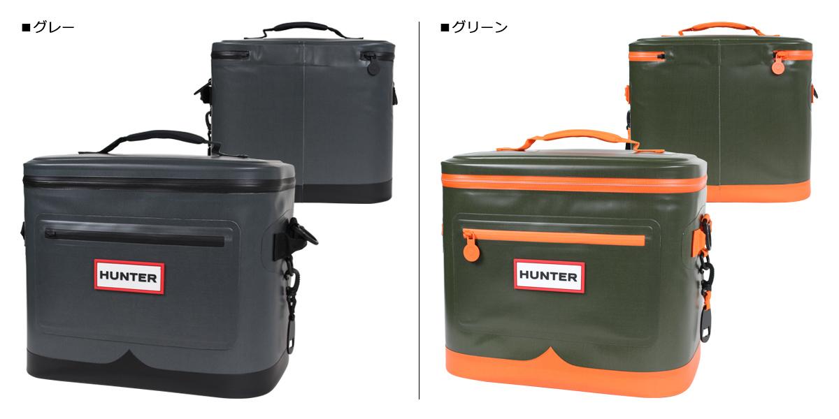 Hunter Square Cooler Bag Air Conditioner Sports Cold Storage Lady Men Target Gray Green 5 16 Shinnyu Load