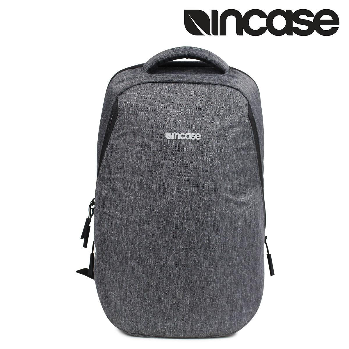 INCASE 13INCH REFORM BACKPACK インケース リュック バックパック バッグ メンズ 18.5L ヘザー ブラック CL55589