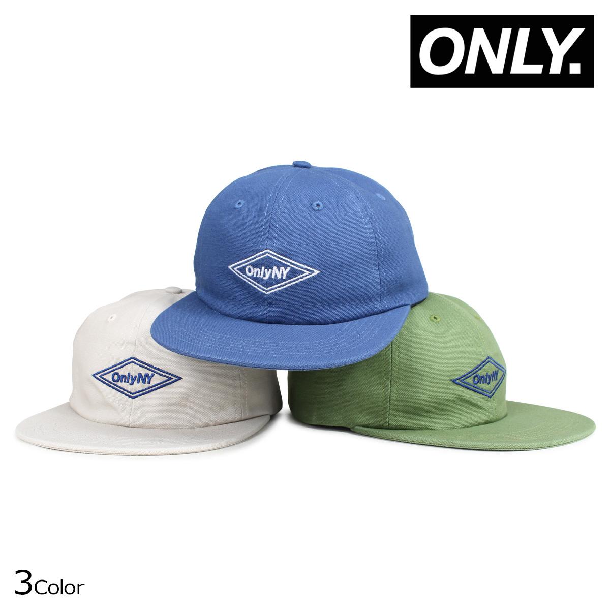 0dc7ff77327 ONLY NY DIAMOND POLO HAT オンリーニューヨーク キャップ 帽子 メンズ レディース ホワイト ブルー グリーン  5 31  新入荷  低価格で大人気