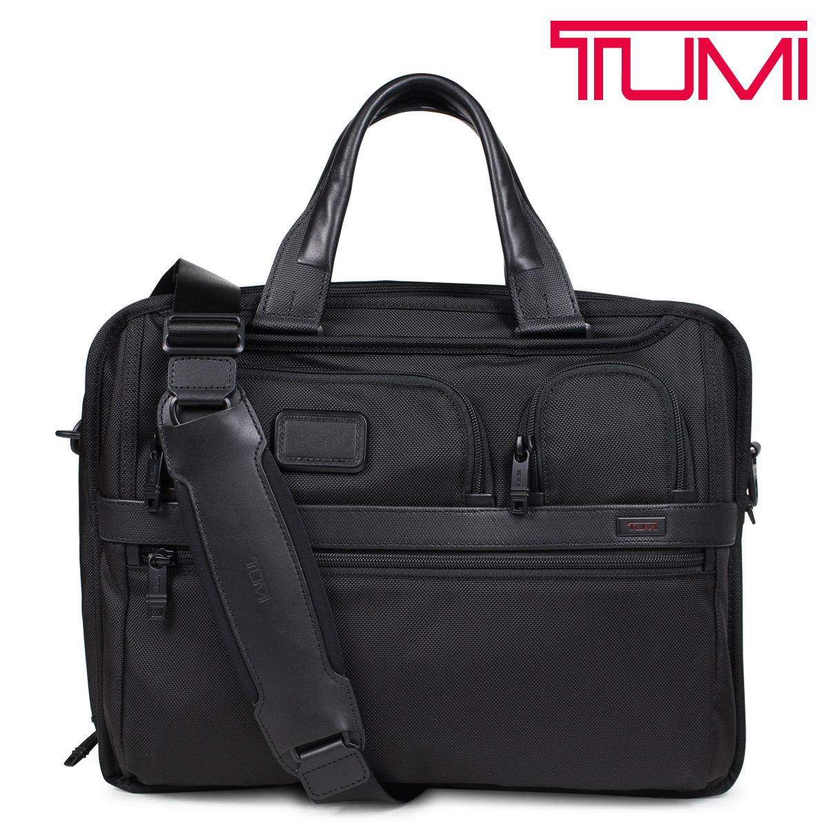 TUMI T-PASS EXPANDABLE LAPTOP BRIEF トゥミ ビジネス バッグ メンズ ALPHA2 ブリーフケース ブラック 26145D2