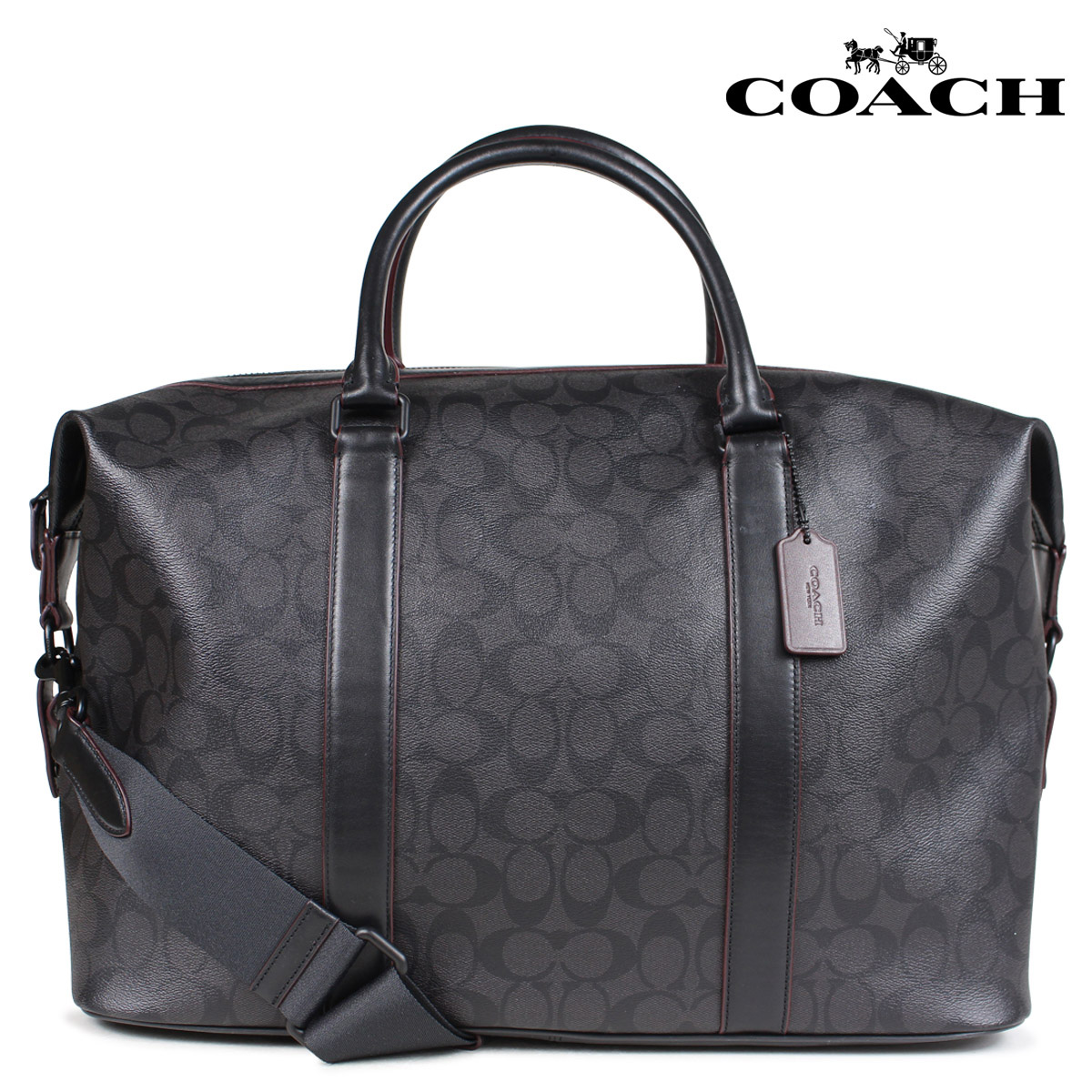 97dff688e31 Whats up Sports  COACH coach bag Boston bag men gap Dis black F23207 ...