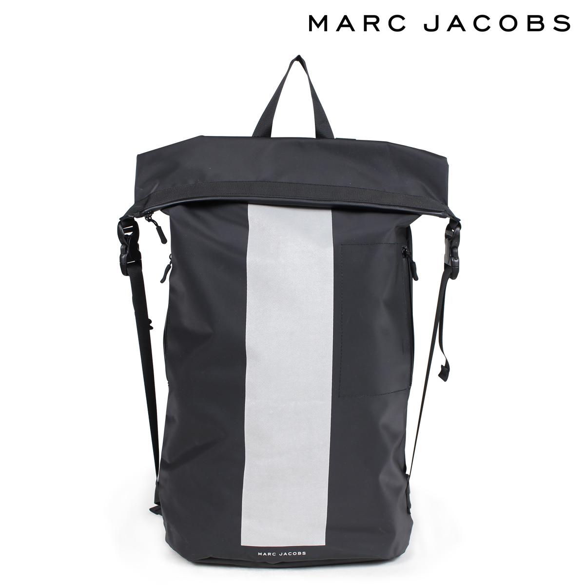 MARC JACOBS LOGO BACKPAC マークジェイコブス リュック バッグ バックパック レディース メンズ ブラック 黒 M7000233